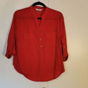 🆕 2 for $30 💘 Alia Red Blouse, size 12P